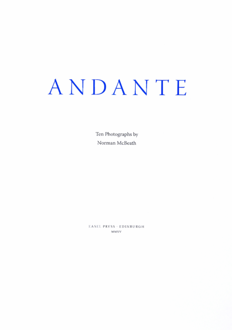 Andante Title Page 1