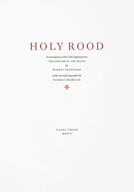 Holy Rood Title Page 7